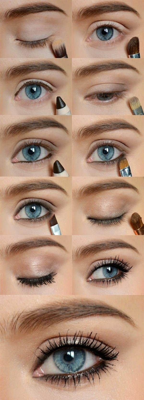 Eye Make Up Steg för steg ögon smink smink tips