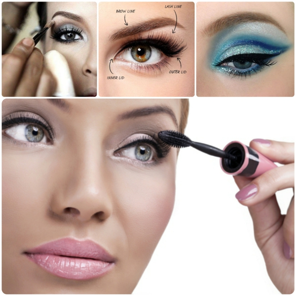 Eye Make Up Steg för steg Eye Make-up tips