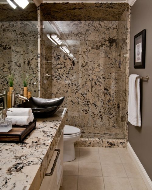 Bathroom Designs in Asian-style tile-marble-Optic-wc-cloths