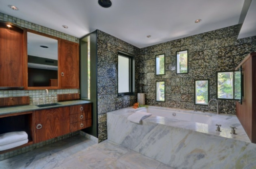 Bathroom Designs in Asian-style wood-furniture-window