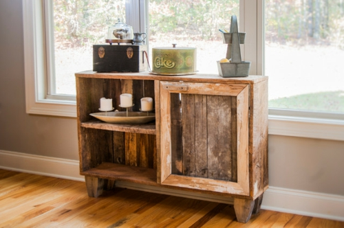 DIY craft sideboard Cool furniture made of europallets