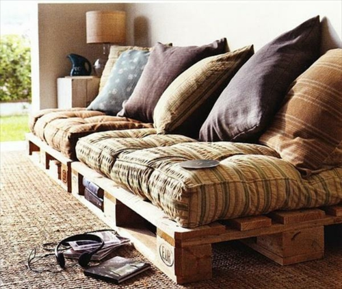 Cool furniture DIY crafting ideas Europallets