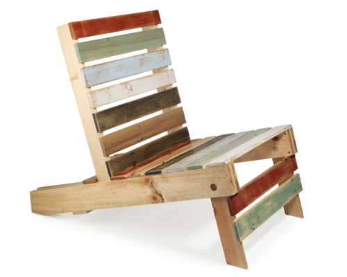 Cool furniture crafting chair Euro pallets DIY