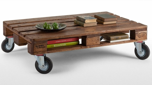 craft ideas roll cool furniture made of Euro pallets DIY