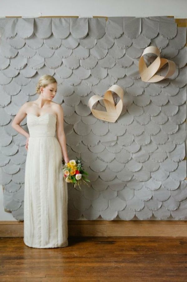 gray background weddings deco wood hearts heart wall