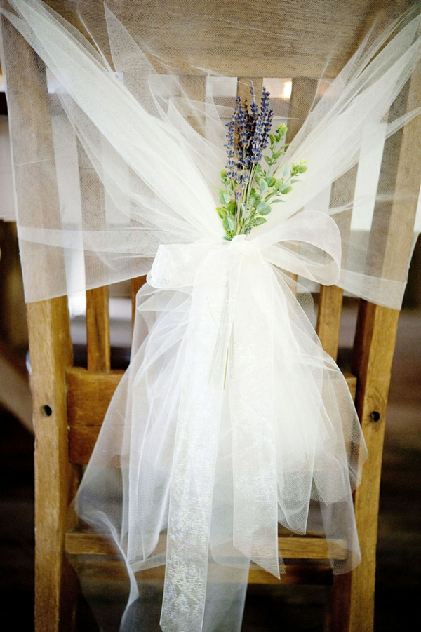 The perfect DIY wedding deco ideas chair back lace