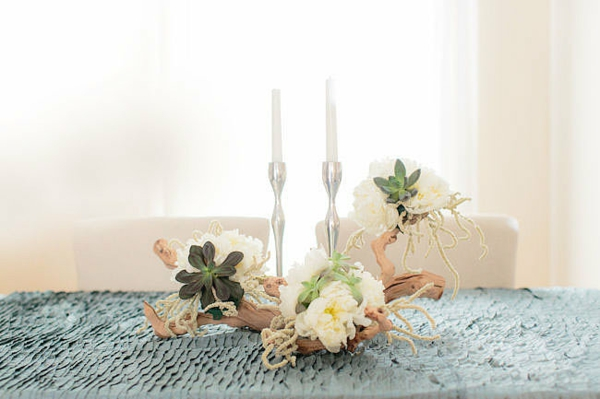 Wedding tablecloth knit deco ideas table candles