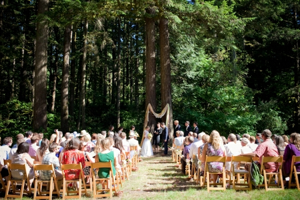 forest environment weddings decoration ceremony green