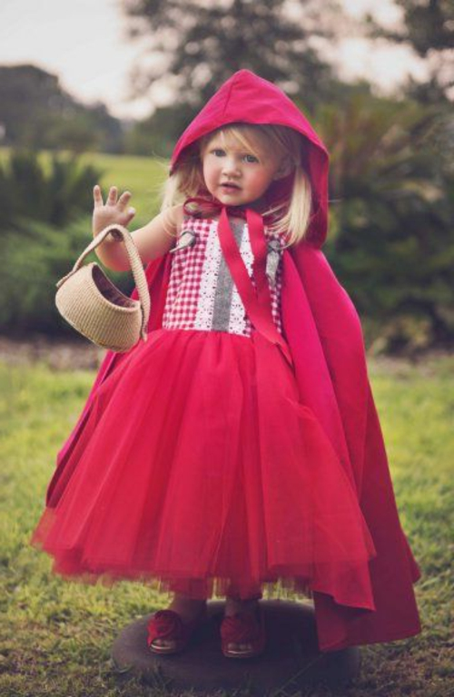 Little Red Riding Hood Carnival Ideas e trajes de carnaval pequeno fofo