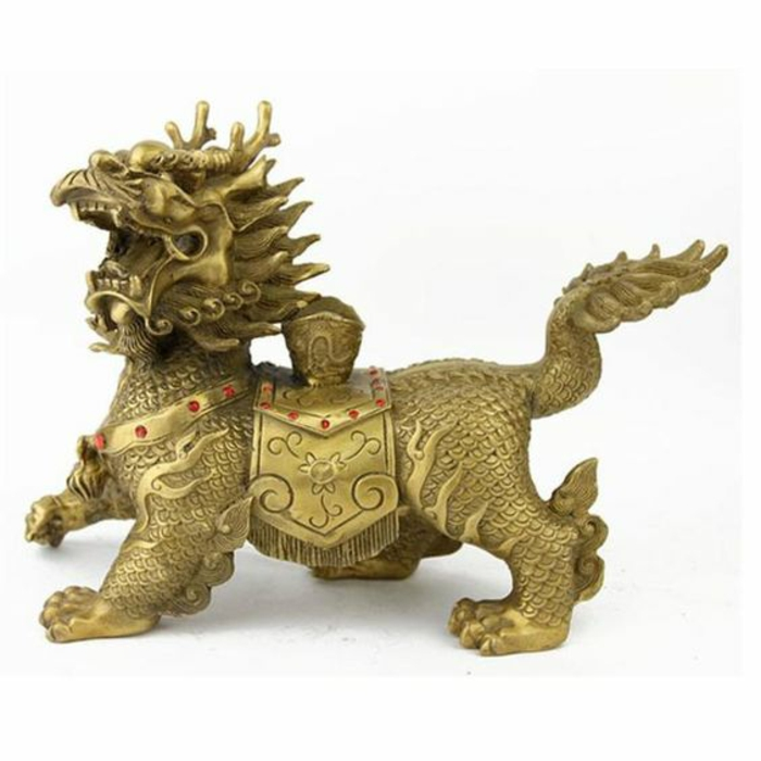Feng Shui pictures home accessories positive energy dragon figure