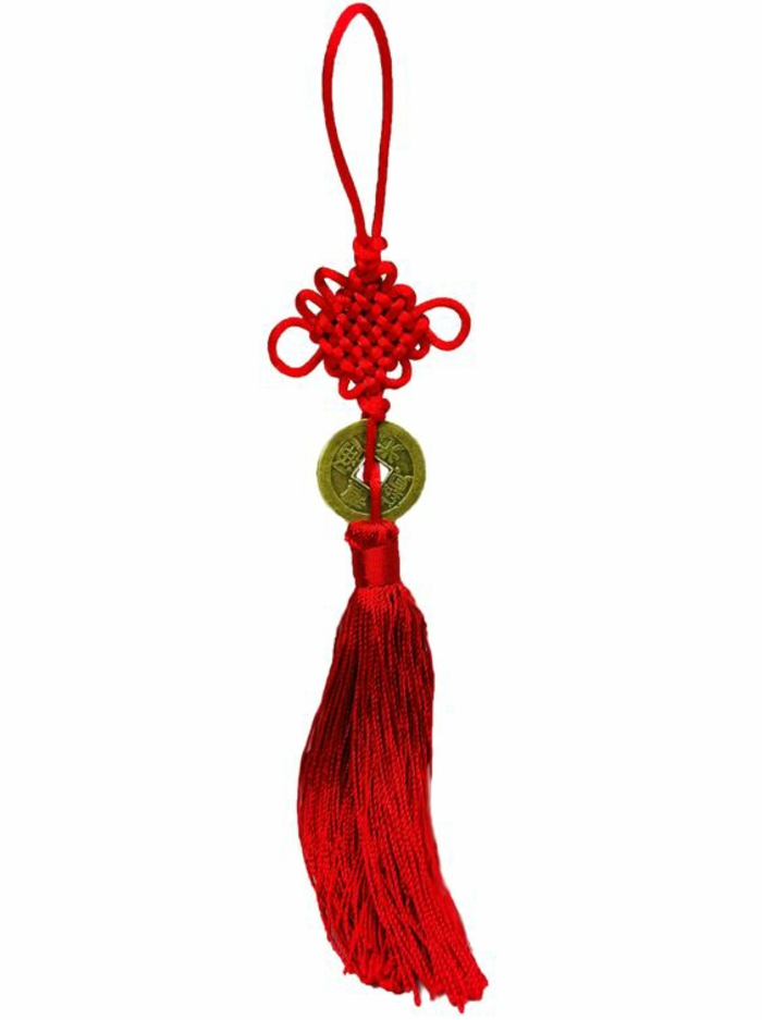 Feng Shui pictures home accessories positive energy Feng Schui knot red