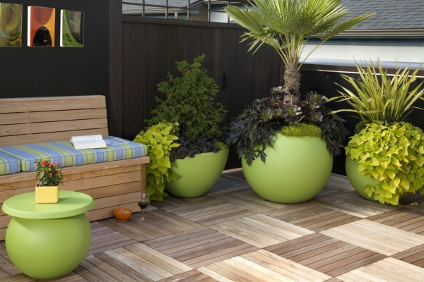 Green plants green accents images exterior patio