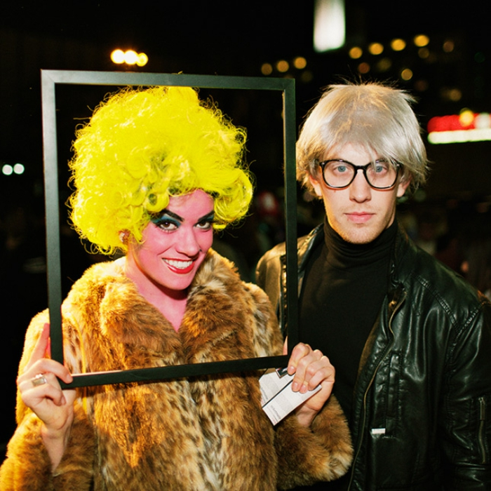 Make Halloween costumes yourself andy warhol