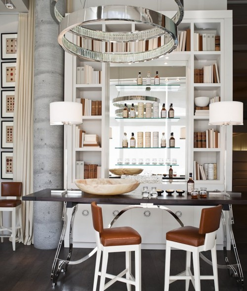 Home bar design hump bar stool bar interior