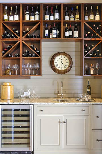 Home bar kitchen wine cellar kitchen cabinets sink
