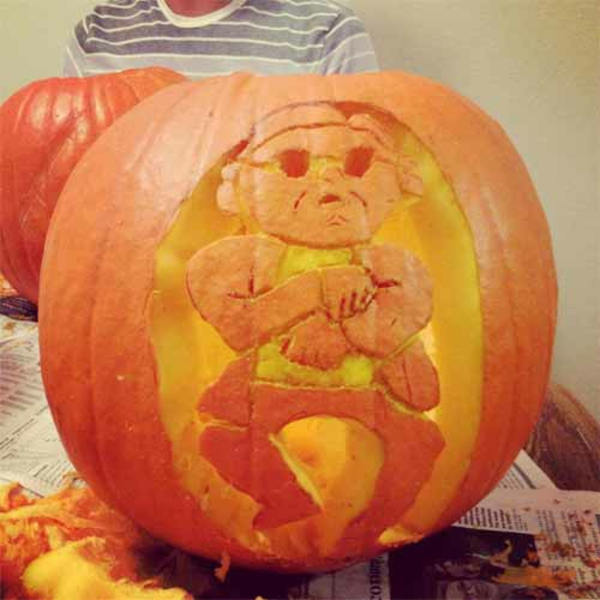 Horror halloween images carving gangnam style