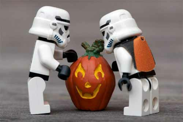 Horror halloween robotbilder star wars