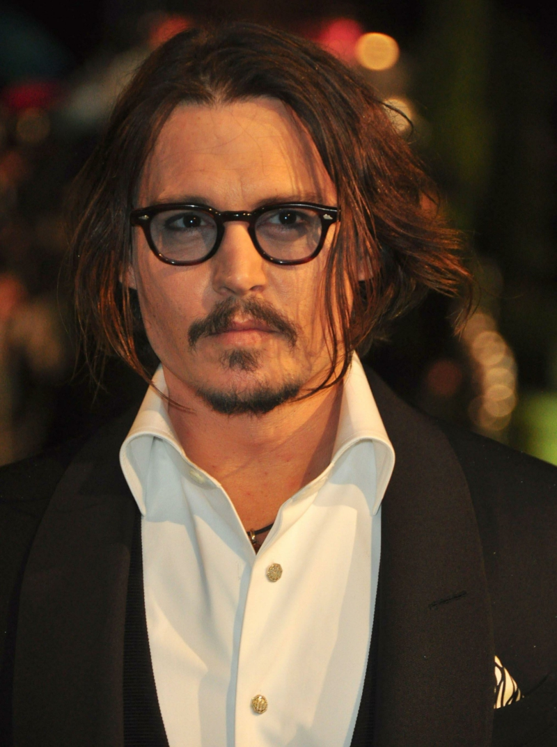 Johnny Depp sexy skuespiller Hollywood stjerner