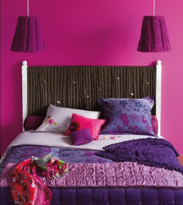 Headboards beds wall colors bedroom girls