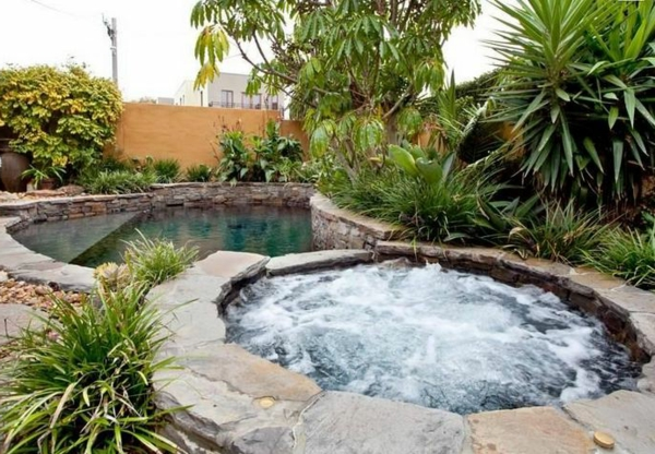 jacuzzi garden ideas landscape trends inviting water