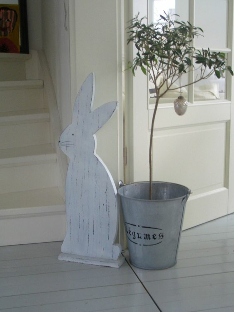 Easter decoration rustic easter decoration ideas easter bunny and easter tree