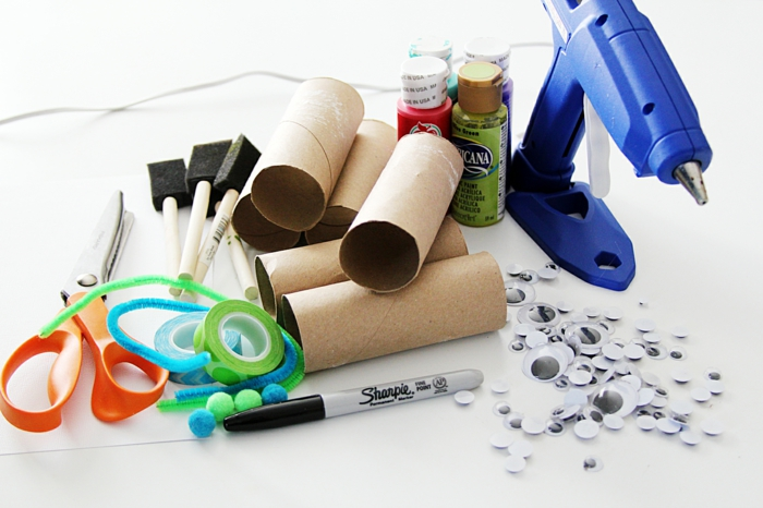 Party decoration roller cords accessories Crafting with toilet paper rolls