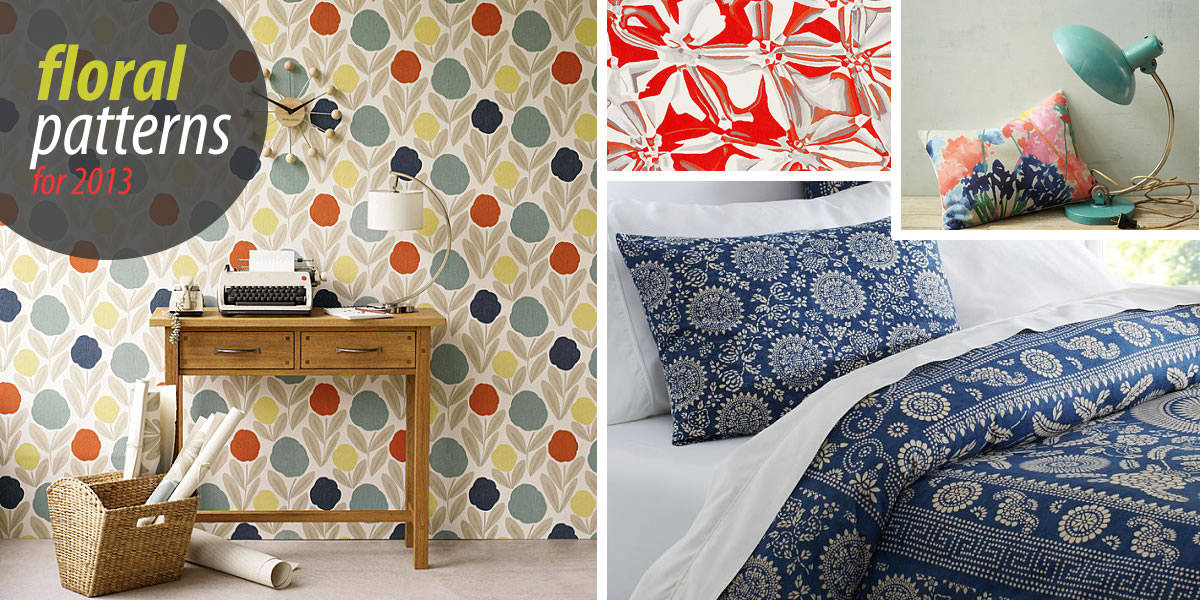 Beautiful floral patterns and trends bedding interesting