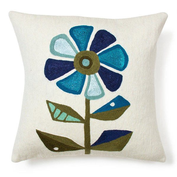 Beautiful floral patterns and trends cushion Jonathan Adler