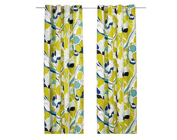 Beautiful floral patterns and trends curtain curtains