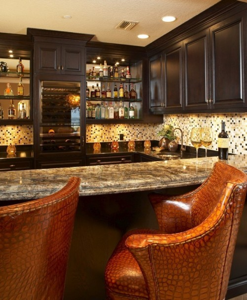 Great home bar leather bar stools kitchen cabinets