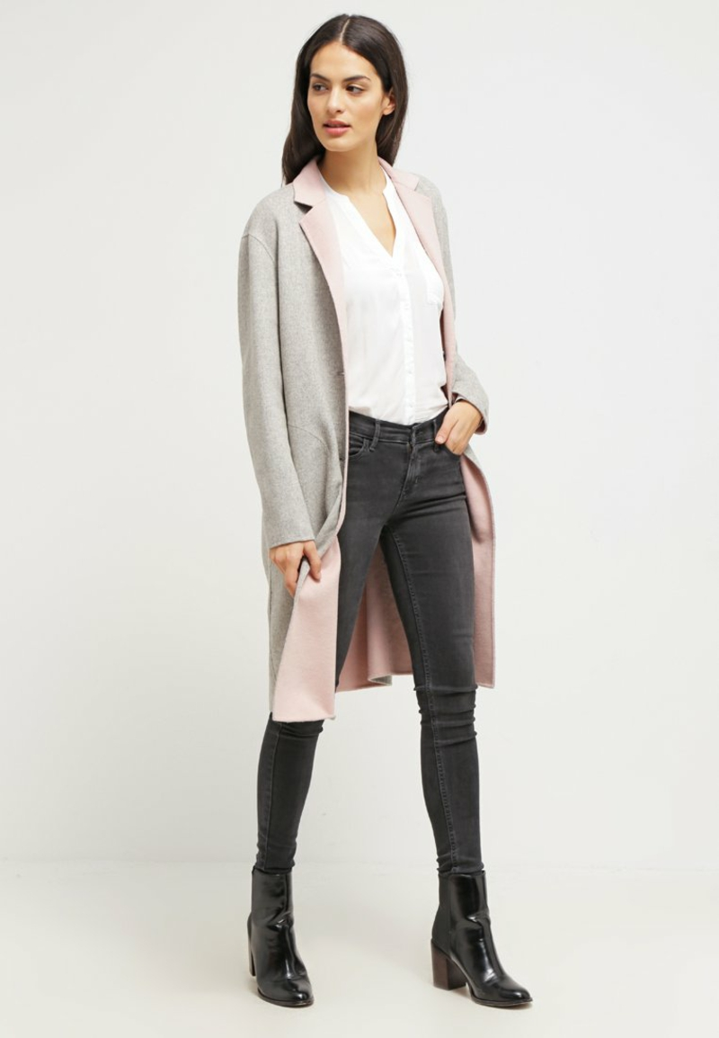Tommy Hilfiger Ladies Coat Giselle Wool Coat Ladies Abrigo de invierno