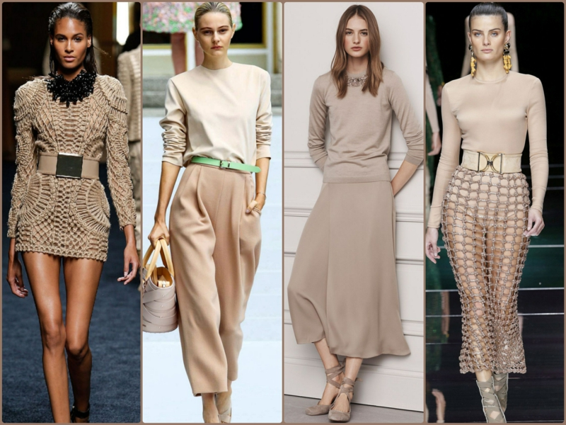 Trendy colors beige 2016 current fashion trends beige dresses