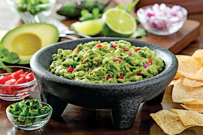 Vegan spreads guacamole