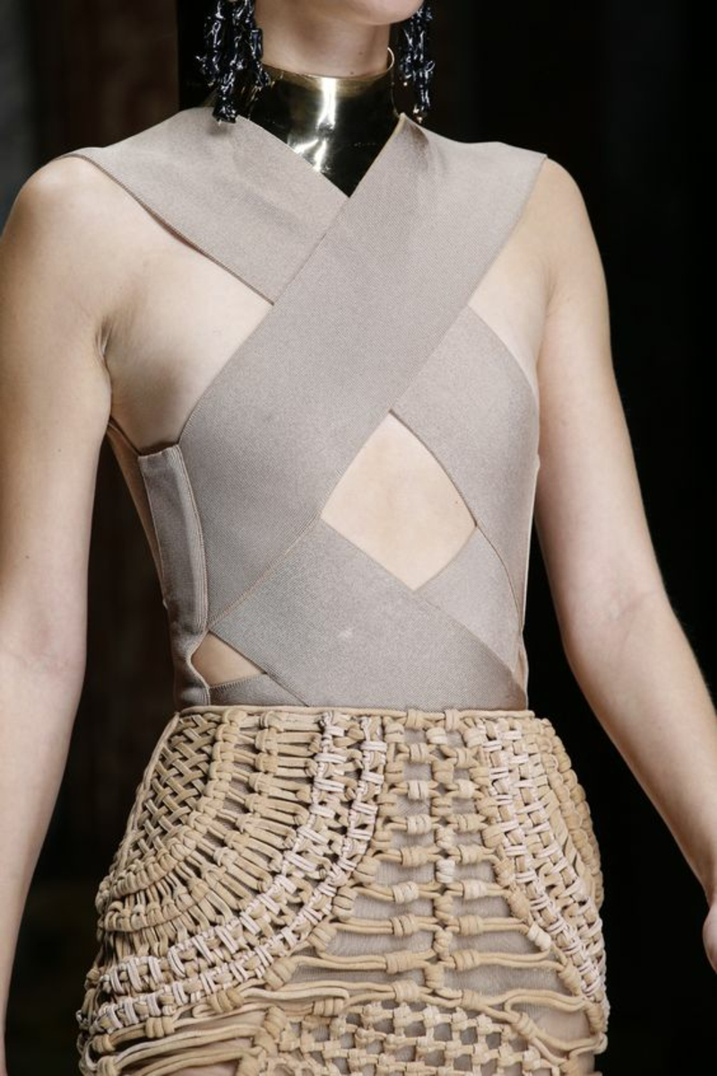 current fashion trends 2016 Color trends Beige Balmain collection