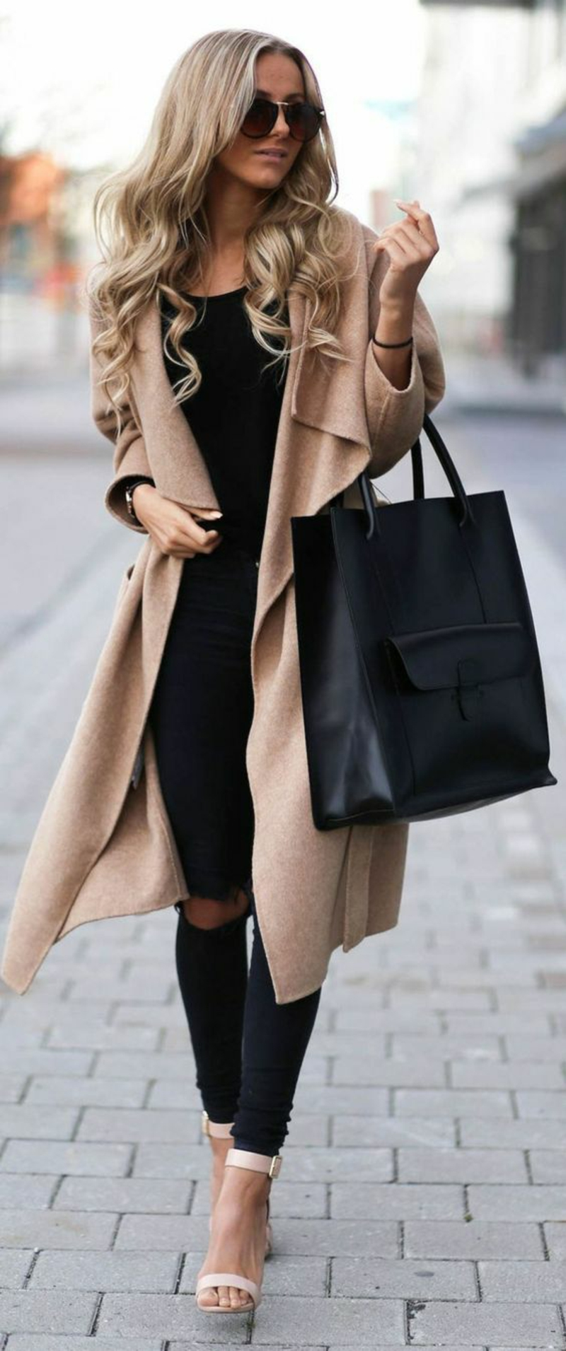 current fashion trends 2016 color trends beige coat