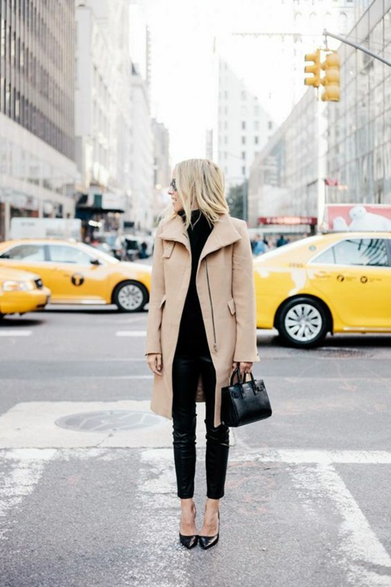 current fashion trends 2016 color trends beige winter coat ladies