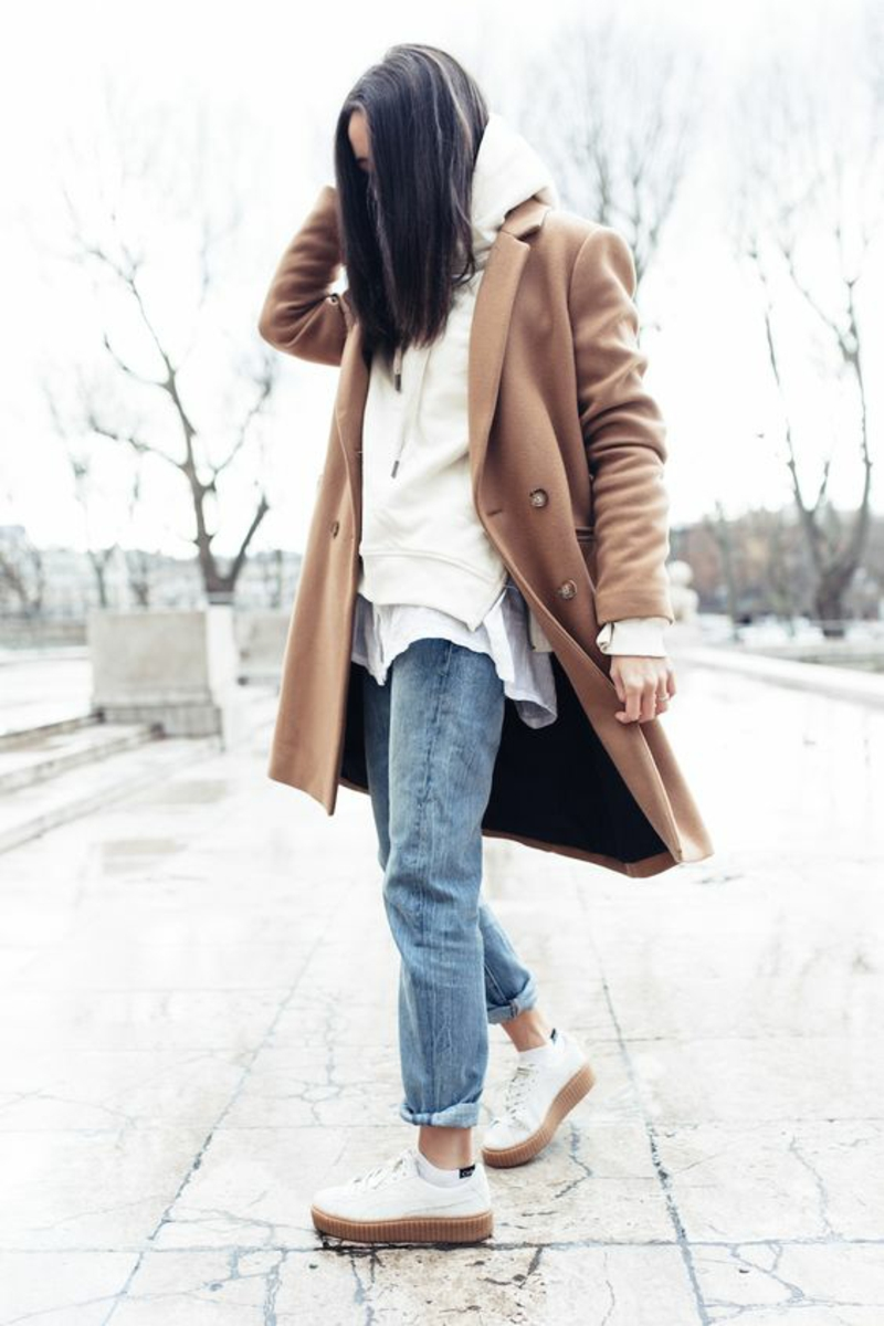 current fashion trends 2016 color trends beige winter coat