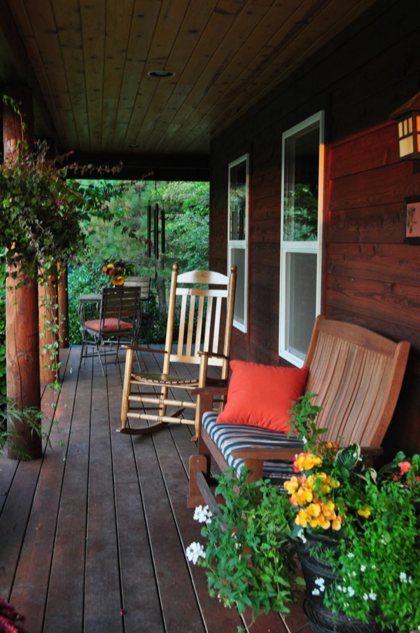 American wooden houses wood porch build your own rocking chair