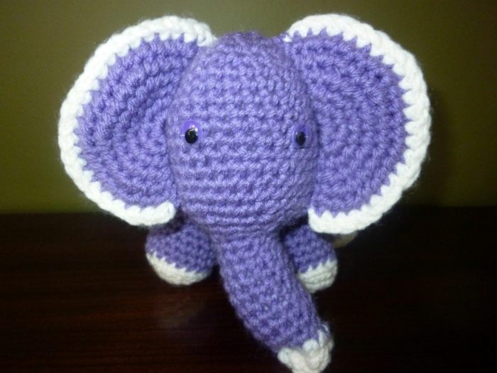 Amigurumi crochet elephant crochet beautiful deco ideas