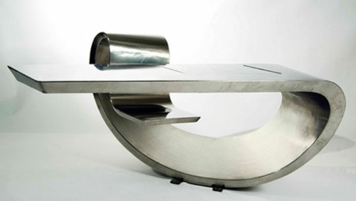 fancy skrivebord for kontoret futuristisk stil design