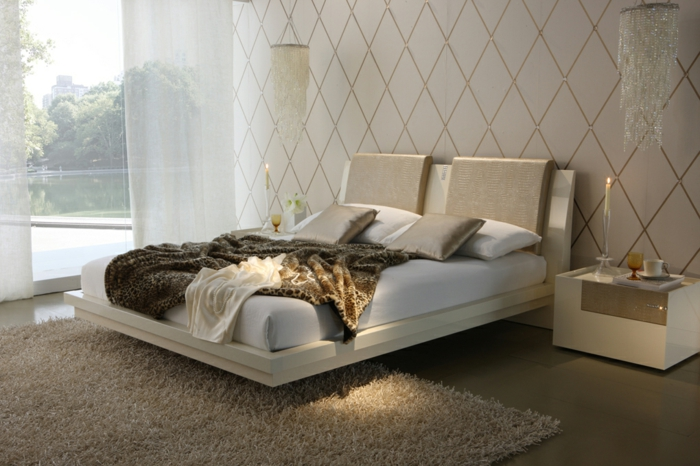 fancy beds hanging suspended bed double bed luxury design bedroom soothingcompany