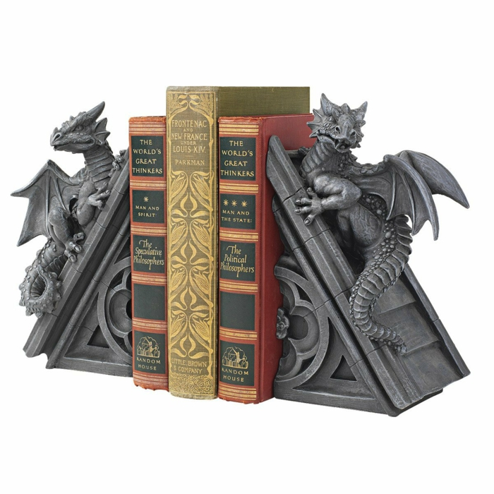 bookends dragon figures