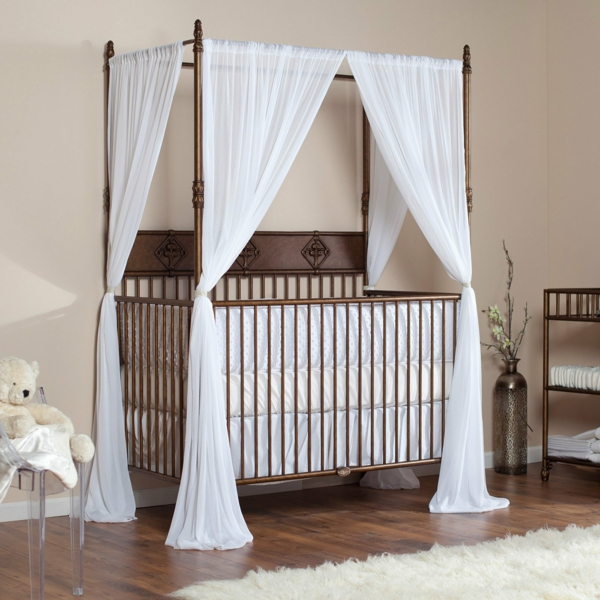 baby bed sky nursery design nursery