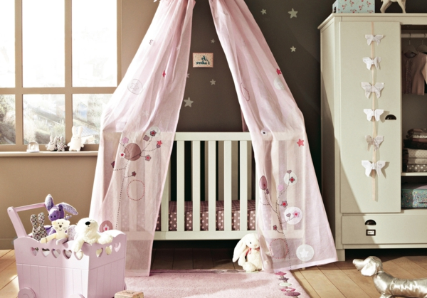 moda baby bed sky girl nursery