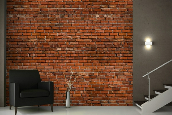 brick wallpaper country style wall design ideas stone look wallpaper