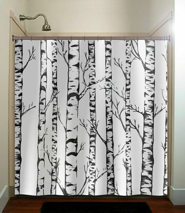 decoration suggestions curtains shower curtains birch trees