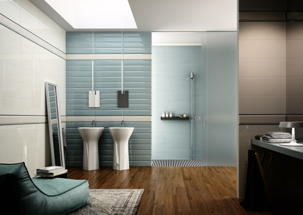 bathroom wall tiles wood floor wall paint dove blue wall design ideas
