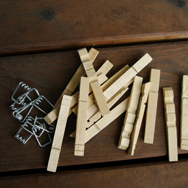 tinker with clothespins wooden diy