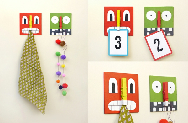 tinker with clothespins creative clothes hook