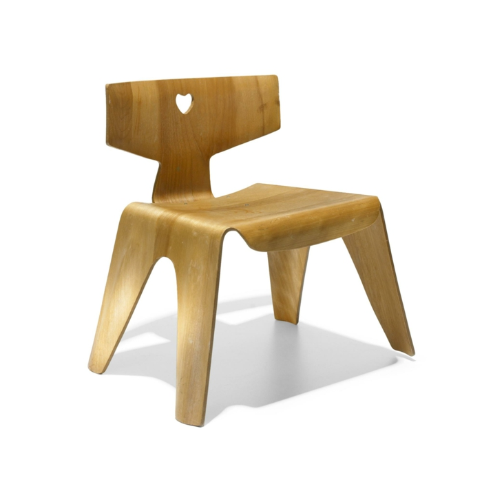 famous architects Charles and Ray Eames children's chair